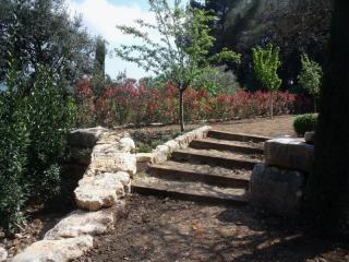 Construction d'escalier de jardin