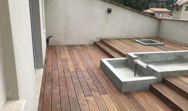 How to build a wooden terrace in your garden?