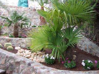 Création de jardinière en pierre