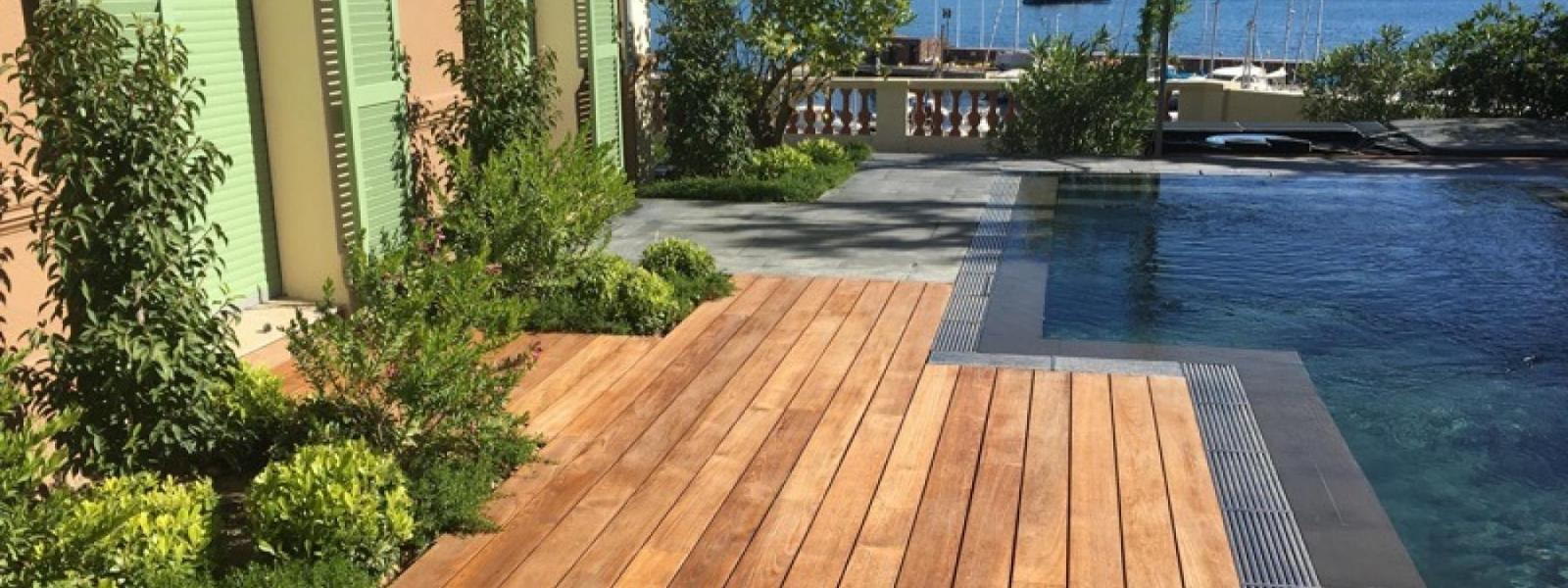 Creation of wooden decks - theoule-sur-mer - Exo Jardin
