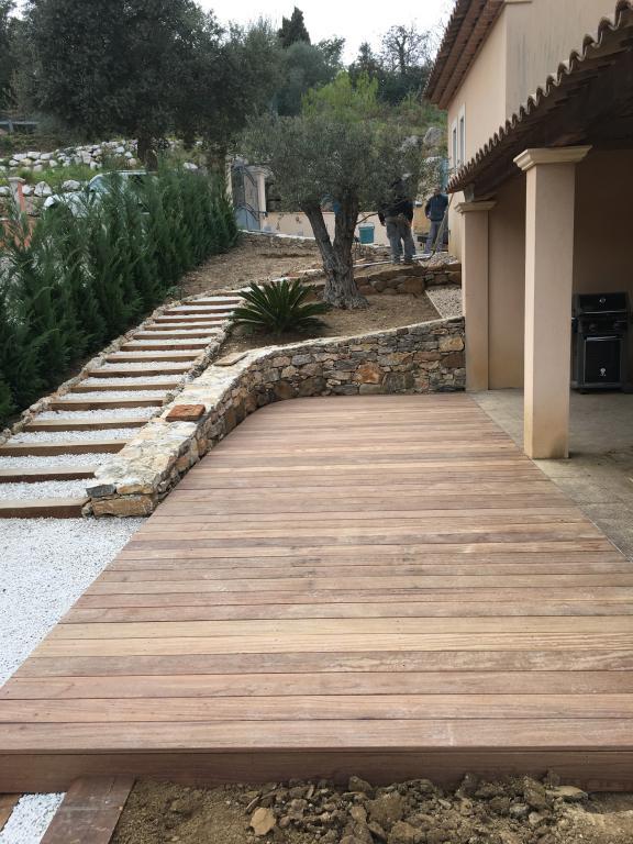 Création de terrasse en bois - Construction terrasse en bois - Exo Jardins