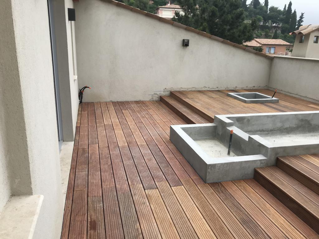 Creation de terrasse en bois - Construction de terrasse amenagement paysager - Exo Jardins