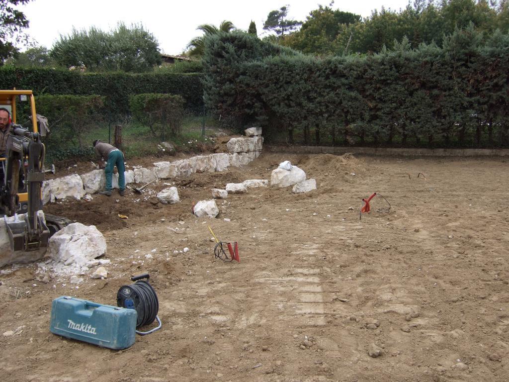 Enrochement paysager - jardinier paysagiste Exo Jardin - Var - Alpes Maritimes