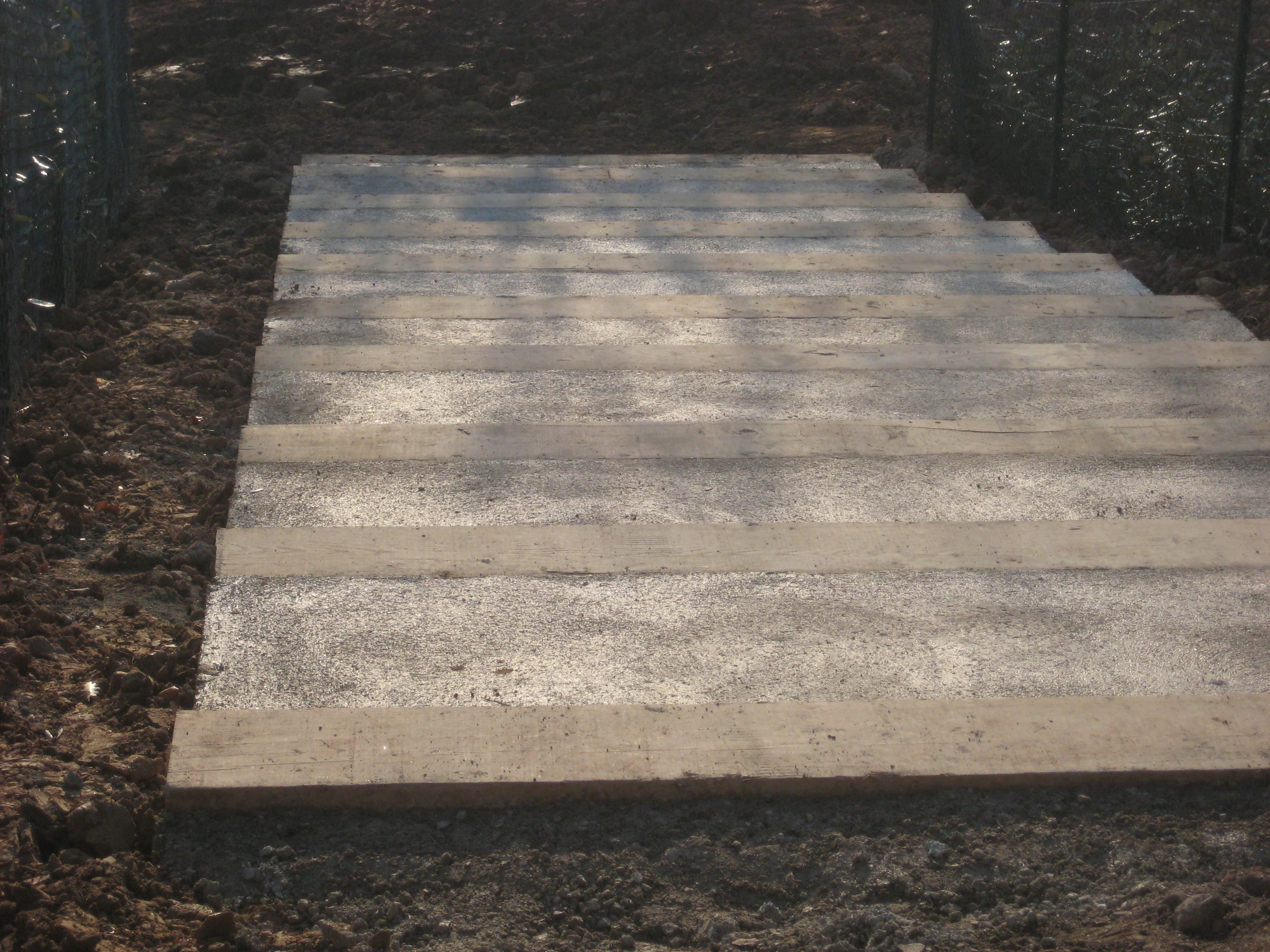 Construction d'escalier de jardin - bois ou pierre - Exo Jardins - Alpes-Maritimes et Var