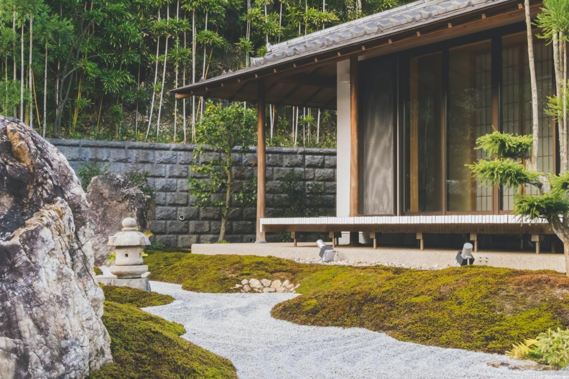 jardin zen création aménagement paysager - Exo Jardins