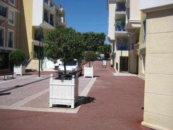 Enrobé rouge rue commune de Téhoule sur Mer - Exo Jardins